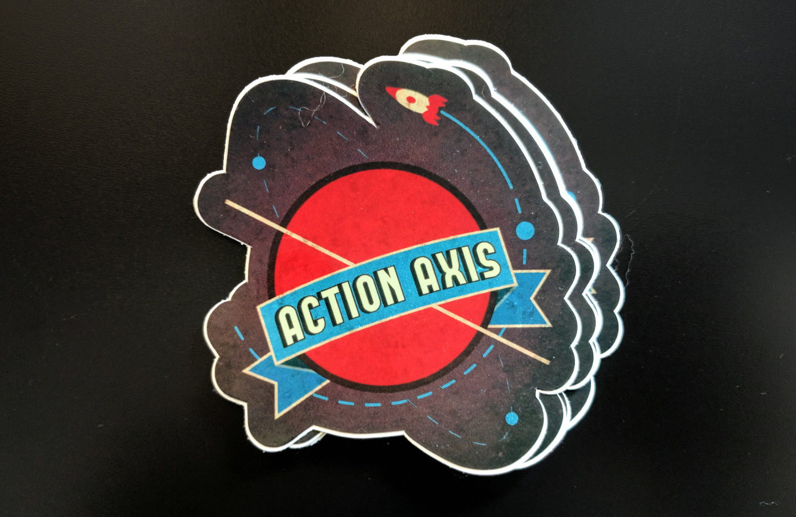 Stickers Action Axis