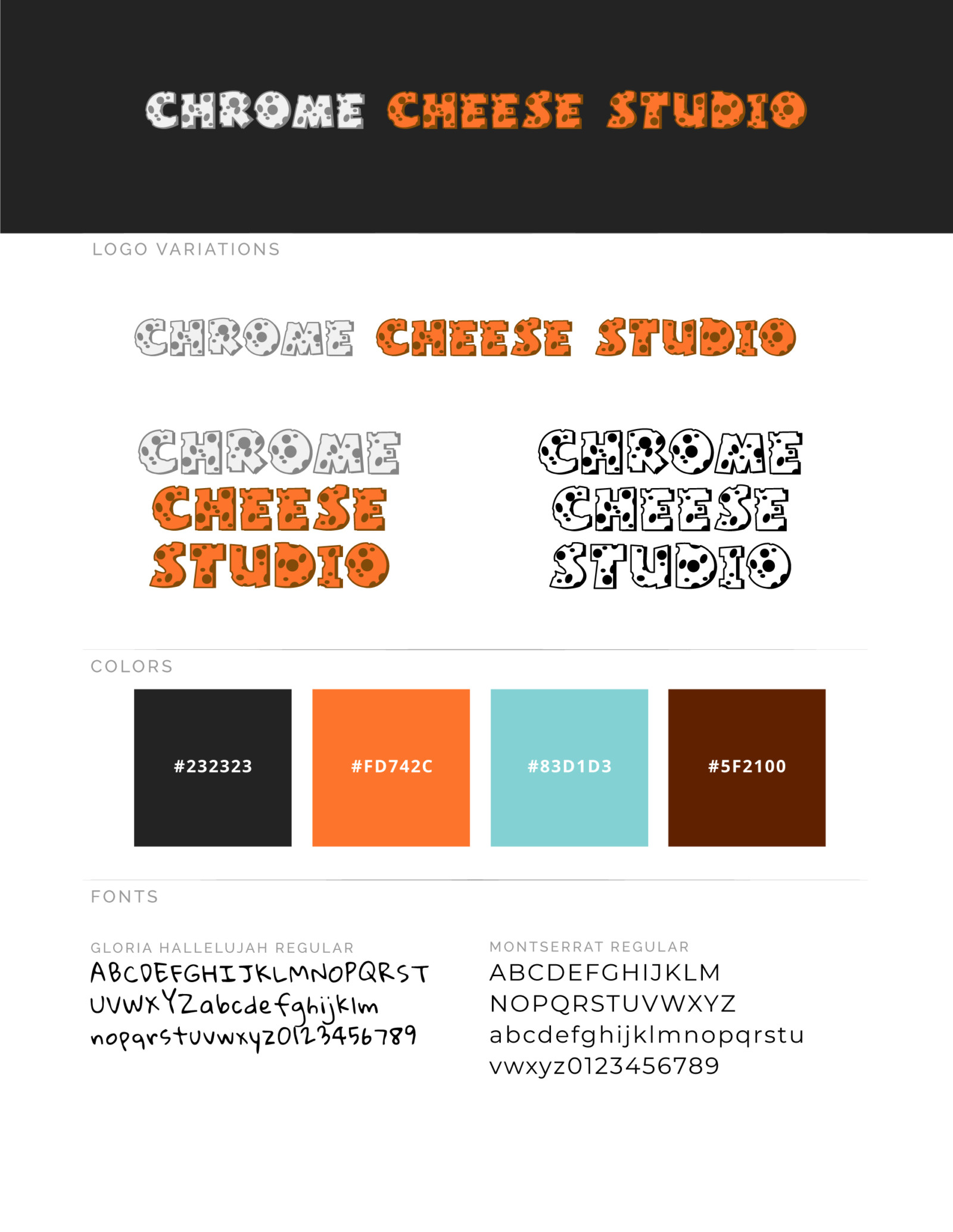 Chrome Cheese Studio Brand Guide