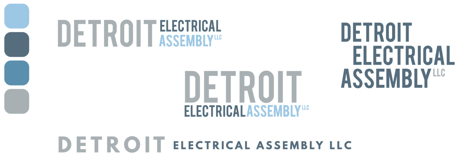 Detroit Electrical Assembly Process Logos