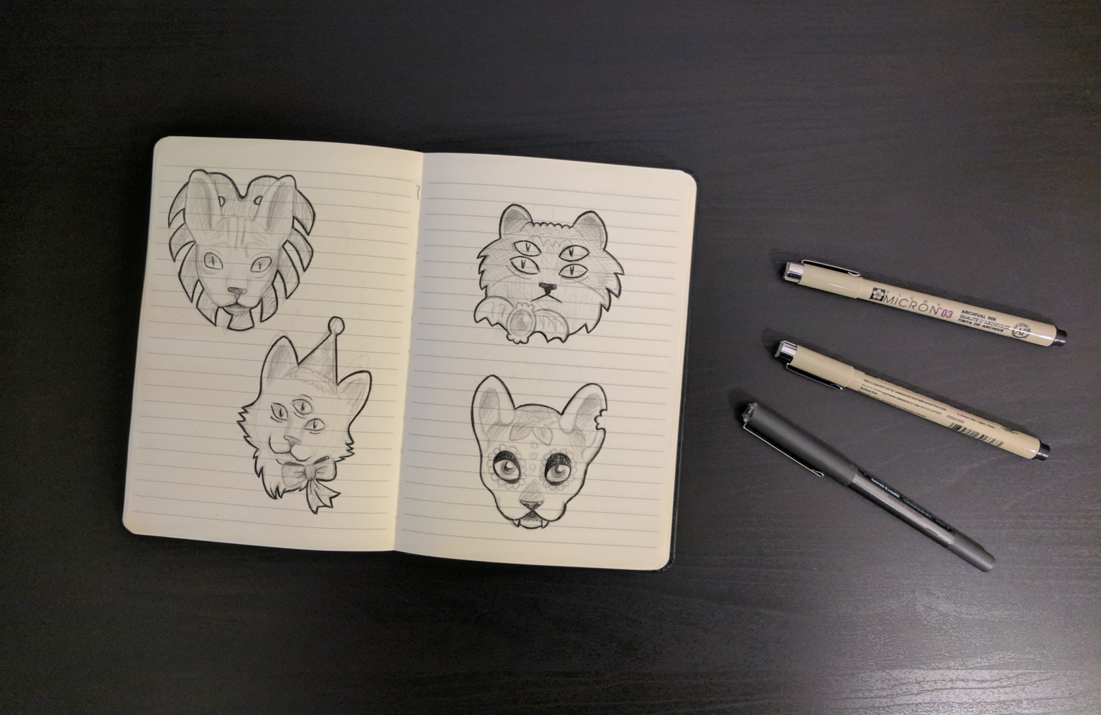 Sketches Cats